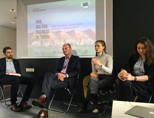 Riias arutati Rail Baltica kui innovatiivse platvormi üle