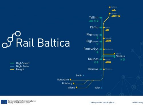 RB initial time-table: four high-speed trains daily from Tallinn to Vilnius and Warsaw